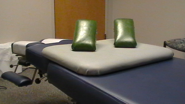Sacro Occipital Technique Chiropractic Table